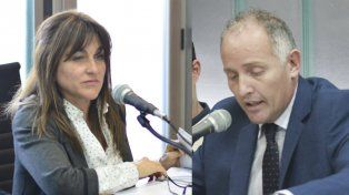 Versiones. La fiscal Carmona y el defensor Rodríguez Allende basaron sus posturas en testimonios opuestos.