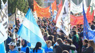 La Multisectorial se movilizará el lunes a Casa de Gobierno contra el ajuste y el FMI