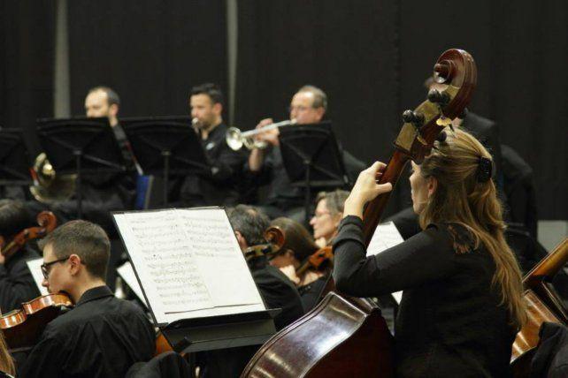 Concierto de la Sinfónica de Entre Ríos en Libertador San Martín