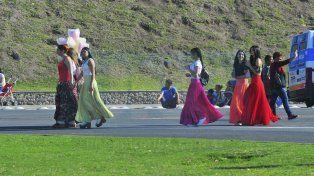 Con el sol a pleno, Paraná celebra la llegada de la Primavera