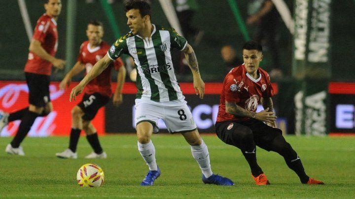 Independiente rescató un empate de visitante