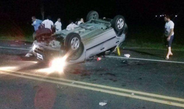 Vuelco fatal en Entre Ríos: murió una mujer de 38 años