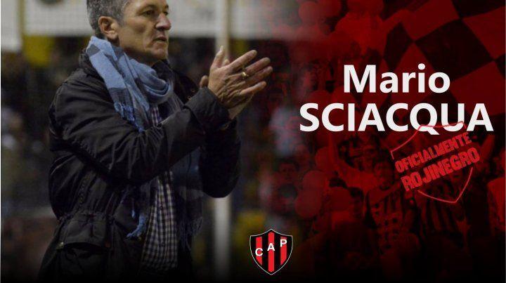 Mario Sciacqua, el nuevo entrenador de Patronato en la Superliga