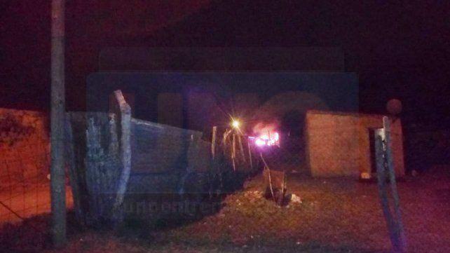 Noche violenta en Capiba: En medio de una balacera expulsaron a una familia