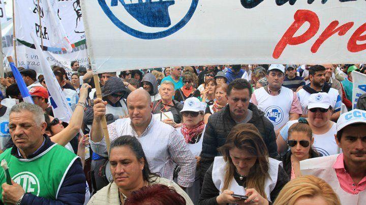 La marcha de la Multisectorial en fotos