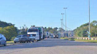 Vigilia. Los camioneros se apostarán en el zona del túnel Subfluvial.