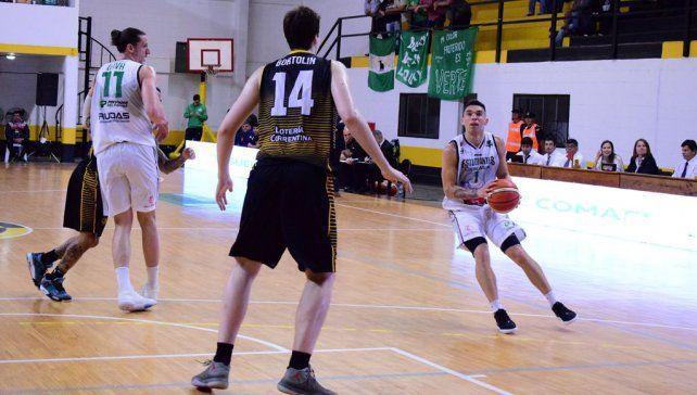 Leandro Vildoza marcó 5 puntos