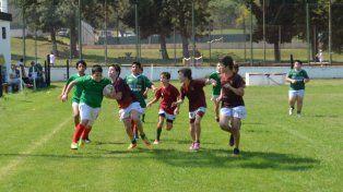 Rugby y amigos en otra jornada de los M11
