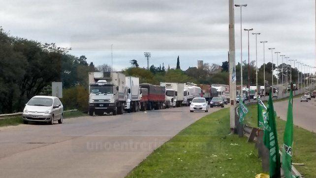 Desde Camioneros señalaron que el sector está pasando un momento crítico