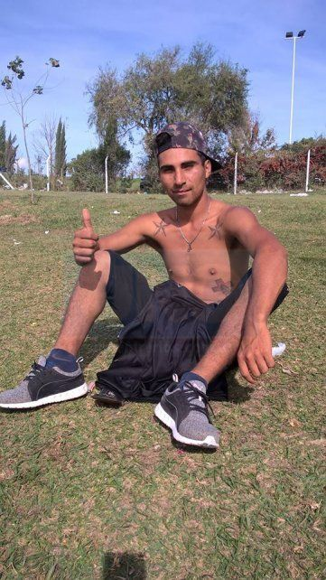 La víctima. Gusmán murió en la tarde del martes en el barrio Capibá.