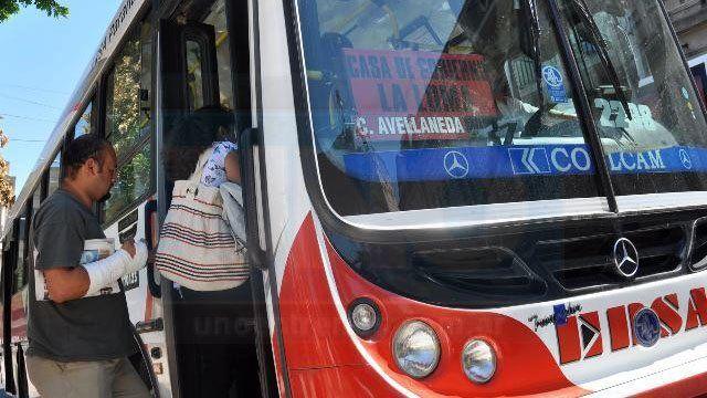 Congelarán las tarifas del transporte de pasajeros por 120 días