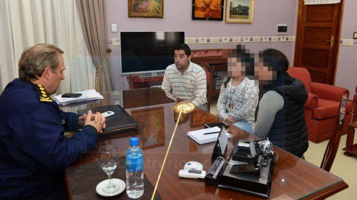 Maslein recibió a uno de los policías involucrados en la muerte de Gabriel Gusmán
