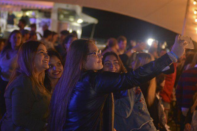 Selfie de amigas.