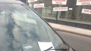 El ocurrente mensaje de un conductor para que no le cobren multa en Paraná