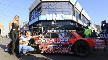 Werner, pasó por UNO, en la previa de la carrera de Paraná.
