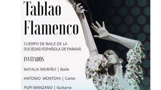 Tablao flamenco con Natalia Meiriño en La Hendija