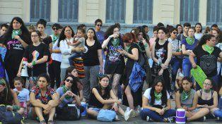 La marcha en el Día Internacional por el Aborto Seguro llegó hasta a la Casa Gris