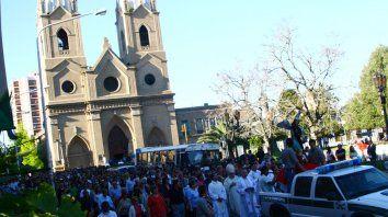 Patrono provincial. Por la festividad de San Miguel Arcángel, habrá procesión y misa esta tarde en Paraná.