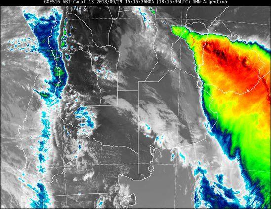 Alerta por tormentas y granizo para Entre Ríos y Santa Fe