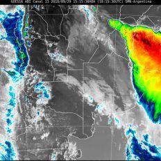 Alerta por fuertes tormentas para una parte de Entre Ríos