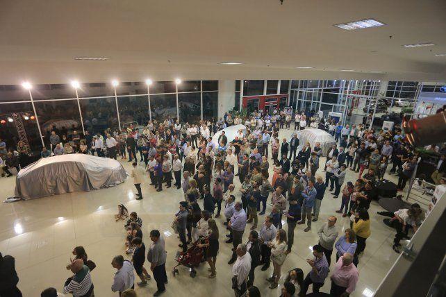 Haimovich presentó el nuevo Yaris en Paraná