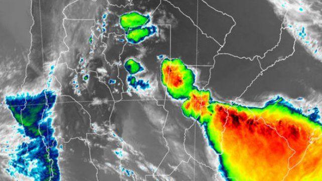 Renovaron alerta a corto plazo por tormentas intensas para una parte de Entre Ríos