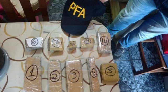 Detuvieron a dos proveedores que vendían drogas en Entre Ríos y Santa Fe