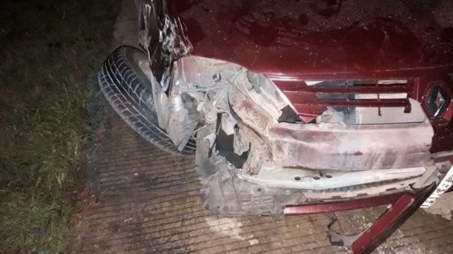 Una persona falleció en una colisionaron entre un auto y una camioneta en la autovía Artigas