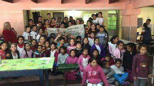 Concretaron el viaje de egresados solidario a una escuela en Feliciano
