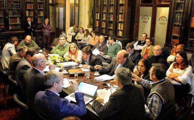 La comisión bicameral en la instancia definitiva del articulado.