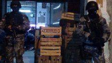 Fachada. En Lanús, Buenos Aires, los proveedores fueron detenidos donde funcionaba una verdulería.