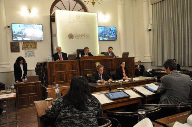 El Senado también dio ingreso al pliego del juez Carbonell