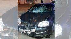 accidente fatal en blas parera: el auto involucrado es oficial y era conducido por un policia
