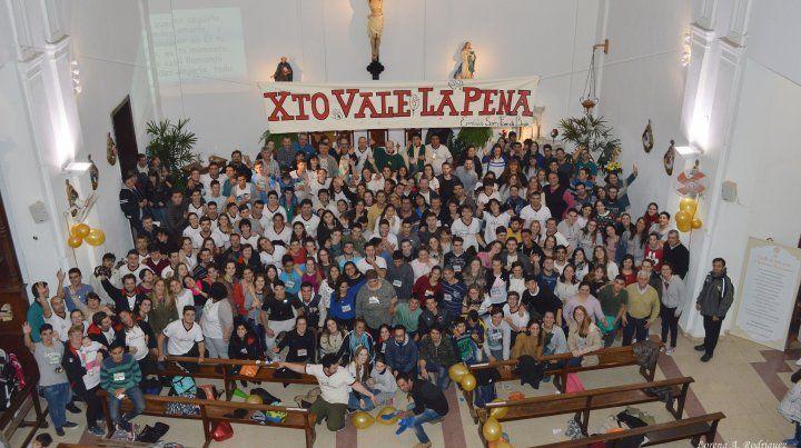 Se celebra la fiesta patronal de una de las comunidades parroquiales más antiguas de Paraná