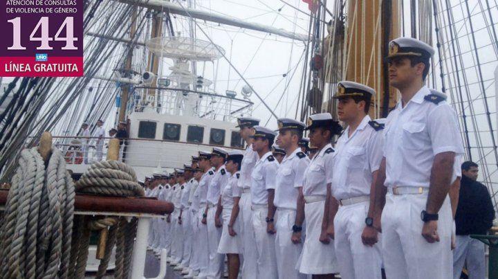 Escándalo tras la denuncia por un caso de abuso sexual en la Fragata Libertad