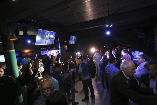 Hierlam se llenó de funcionarios y periodistas.