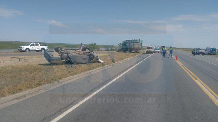 El accidente fue en el km 50 de la ruta nacional 174.