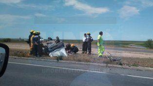 Accidente fatal en la ruta 174: hay un muerto y un herido grave