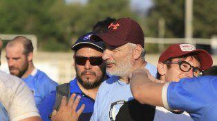 A la cabeza. Paul Halle es el entrenador que devolvió al PRC a Primera.