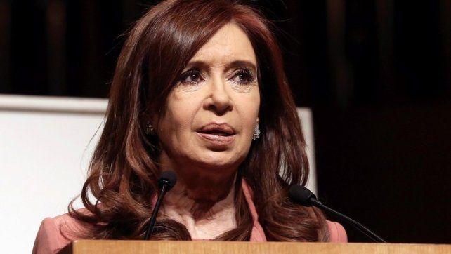 Cristina Kirchner presentó un proyecto de ley para frenar la nueva suba del gas