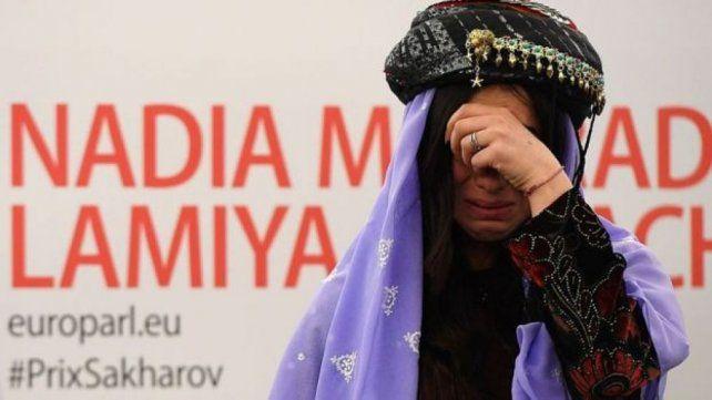 """""""Le pido al mundo que haga algo por nosotros"""", fue el ruego que hizo Murad alrededor del mundo para detener el abuso de Estado Islámico en Siria e Irak."""