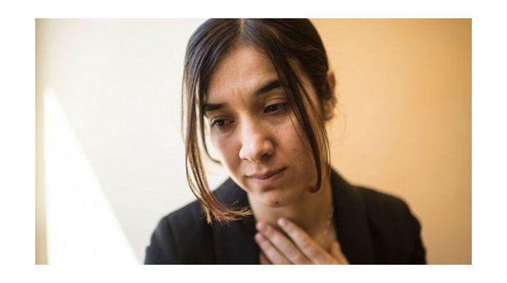 Nadia Murad estuvo secuestrada por combatientes de Estado Islámico durante tres meses