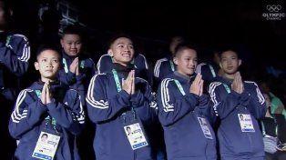 Los chicos tailandeses fueron ovacionados en Buenos Aires