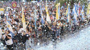 Una fiesta de cumpleaños adelantó Puiggari.
