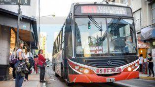 Paro de transporte: Este martes los colectivos comenzaron a circular a las 6