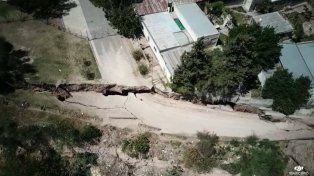 Aranda: Informamos sobre la fractura de la barranca pero hubo mucha gente que no lo tomó en serio