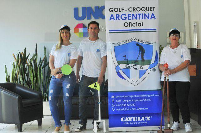 El Golf croquet, un deporte con proyección provincial y nacional