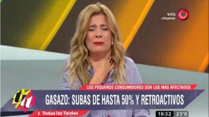 Mercedes Ninci le lloró al presidente Macri