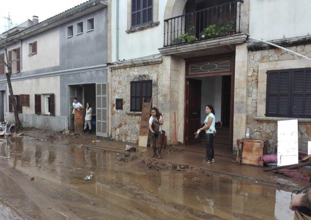 Nueve muertos y seis desaparecidos tras una fuerte tromba de agua en Mallorca