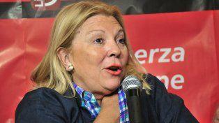 Incendiaria. La legisladora no admite fisuras en su gesta antikirchnerista y se pelea hasta con Macri.